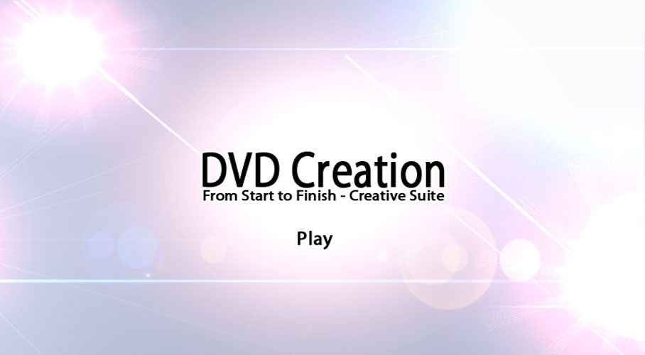 DVD Menu Creation