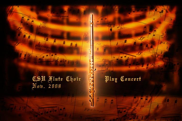 Flute Concert DVD Menu